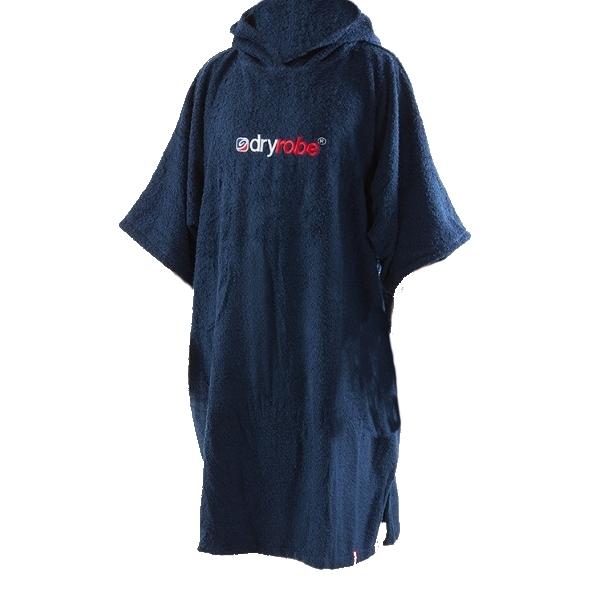 Dryrobe Junior Toweling Beach Changing Robe Short Sleeved