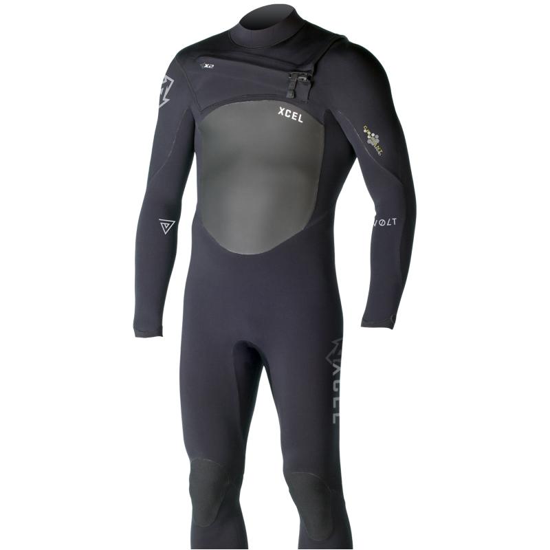 Xcel Revolt TDC 5/4mm Wetsuit Black