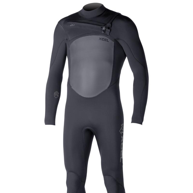 Xcel 4/3 mm Infiniti TDC Wetsuit X2 CZip Black
