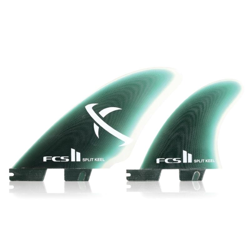 FCS II MB Keel Quad Surfboard Fin Set