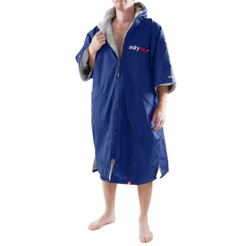 Dryrobe Advance Beach Changing Robe Navy Grey