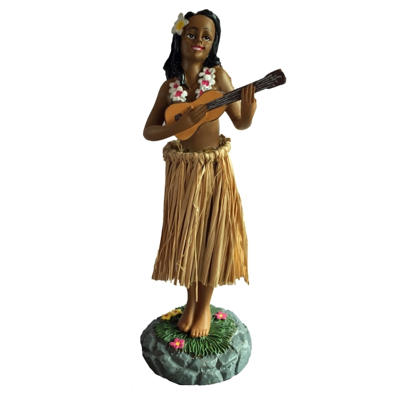 Dashboard Hula Girl With Ukulele