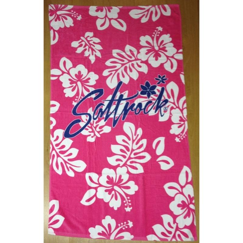 Saltrock Towel Pink Hibiscus