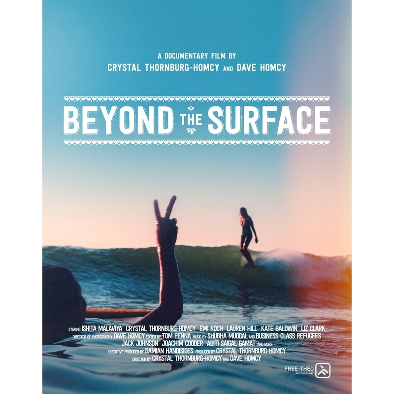 Beyond The Surface Surf DVD