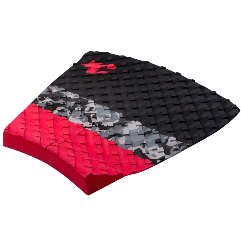 Creatures Split Surfboard Tail Pad Black Red