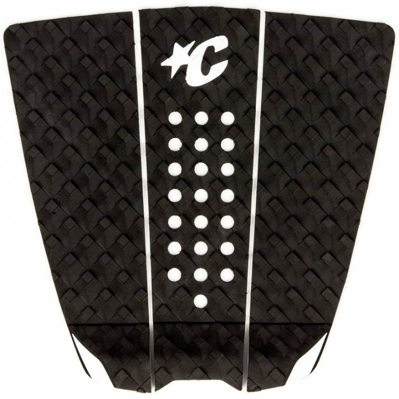 Creatures The Wide Surfboard Tail Pad Black