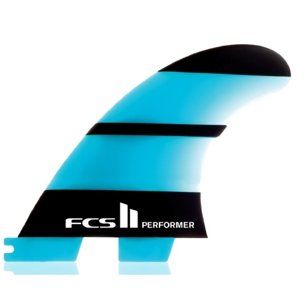 FCS II Performer Neo Glass Thruster Surfboard Fins Large