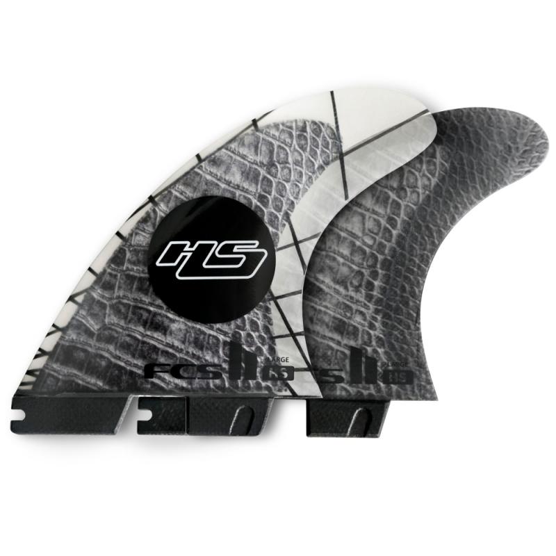 FCS II HS Hayden Shapes PCC Thruster Surfboard Fin Set