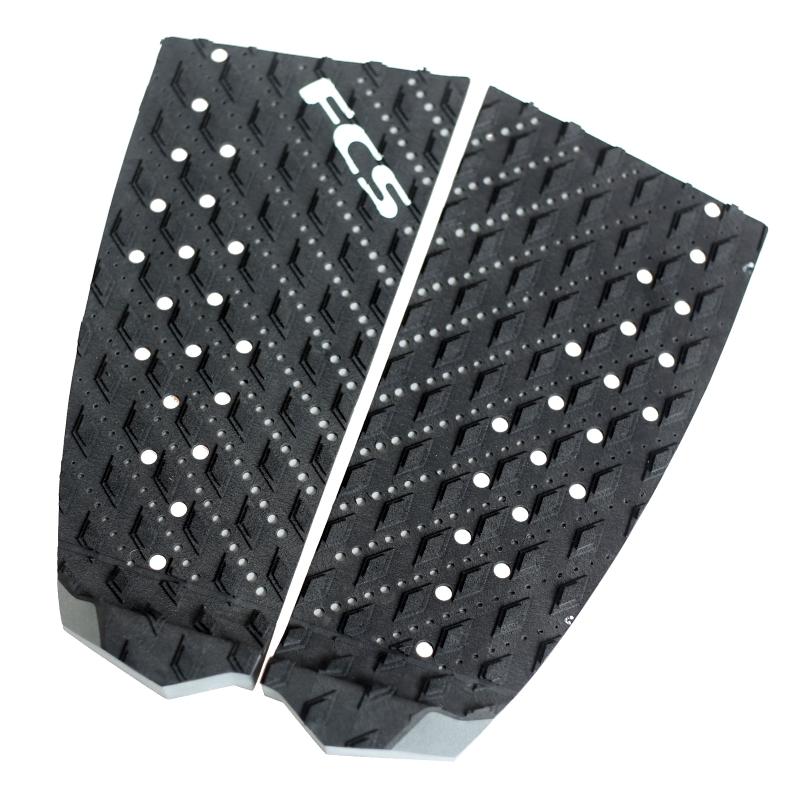 FCS T2 Surfboard Tail Pad Black Grey