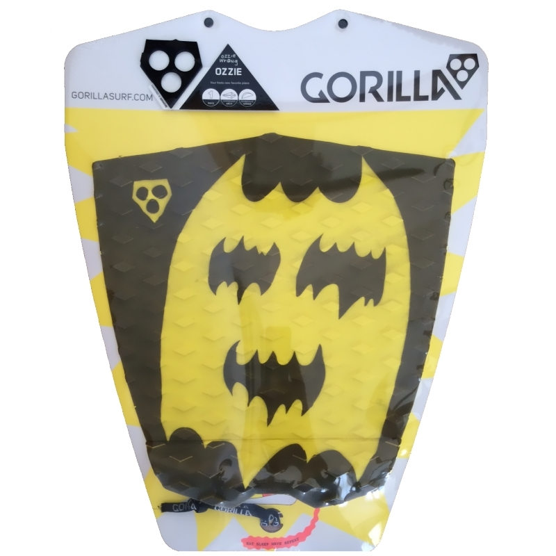 Gorilla Ozzie Surfboard Tail Pad Bat Guy
