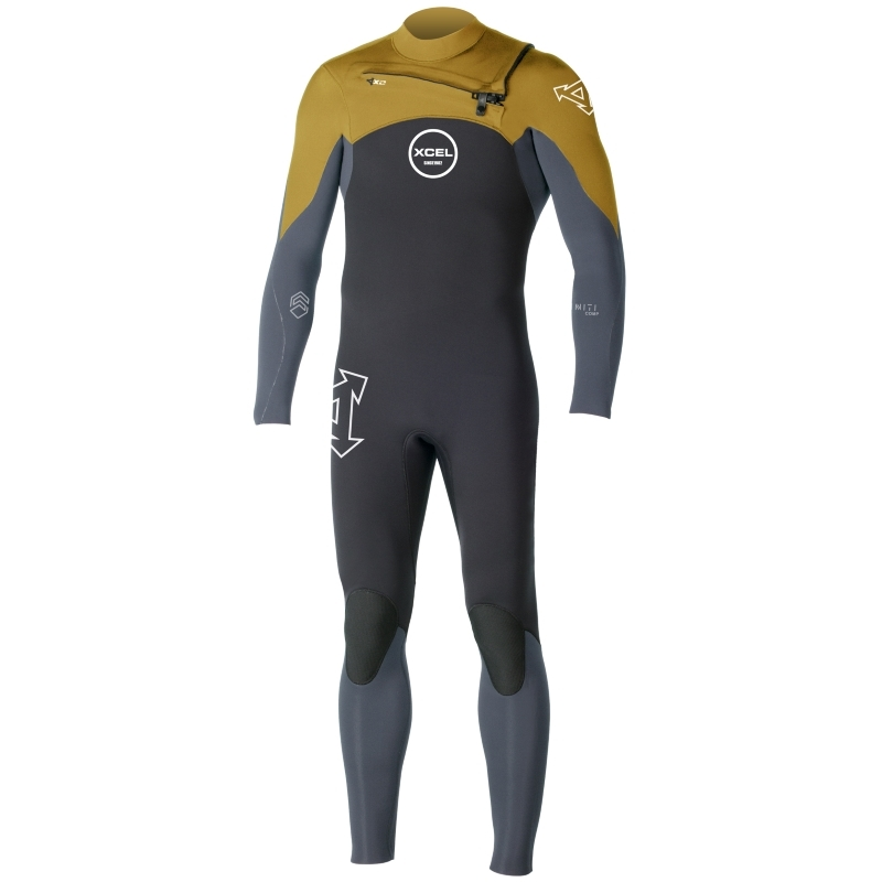 Xcel 3/2mm Infiniti Comp QD Wetsuit Chest Zip