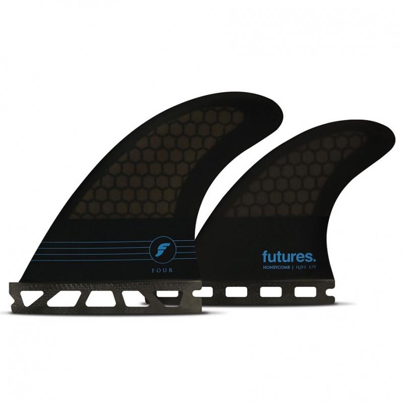 Futures Fins F4 Quad Surfboard Fin Set Honeycomb