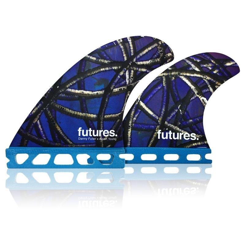 Futures Fins Danny Fuller Quad Surfboard Fin Set