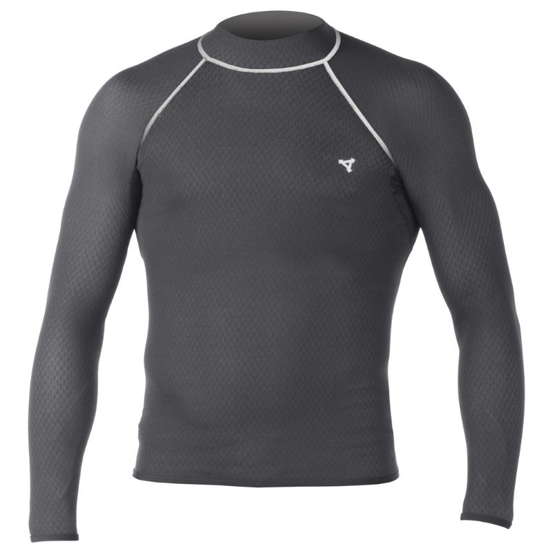 Xcel Drylock Smart Fibre Rash Vest Long Sleeved