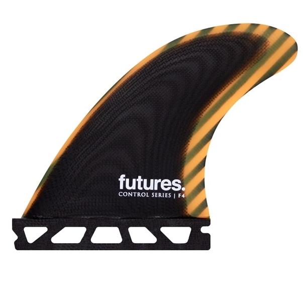 Futures Fins F4 Control Thruster Surfboard Fins