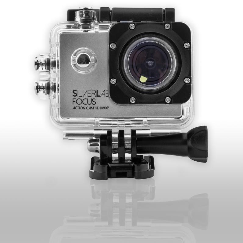 Silverlabel Focus Waterproof Action Camera 1080p