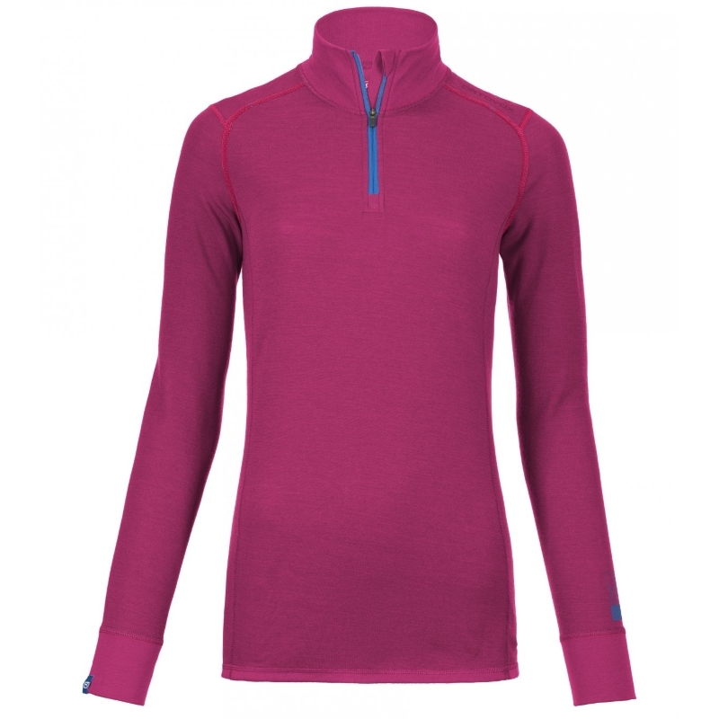 Ortovox 210 Merino Supersoft Womens Long Sleeved Zip Neck Top