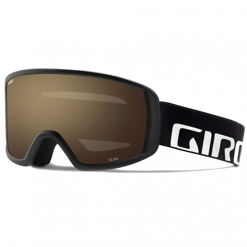 Giro Scan Ski Goggles Black Wordmark AR