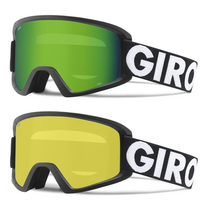 9705b52a7c66 Giro Semi Ski Goggles Black Futura 2 Lens Pack