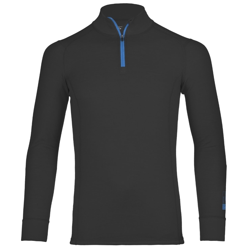 Ortovox 210 Merino Supersoft Mens Long Sleeved Zip Neck Top