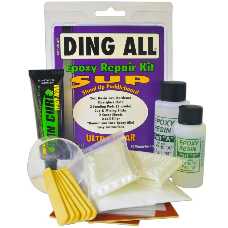 Ding All SUP Stand Up Paddleboard Repair Kit