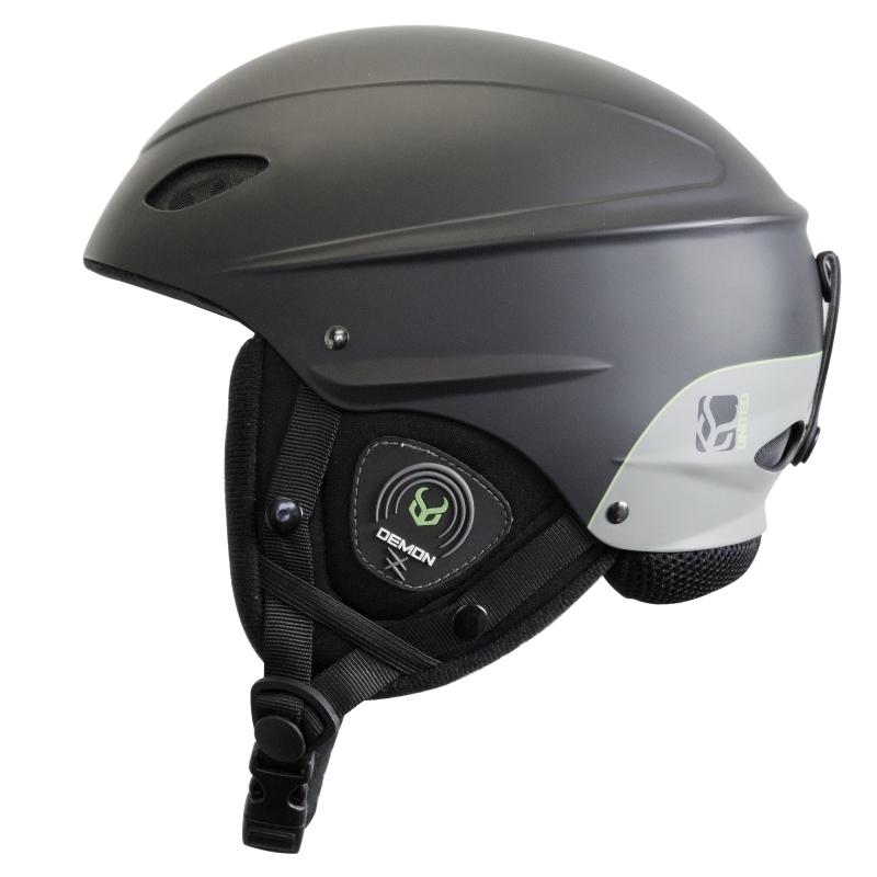 Demon Phantom Ski Helmet with Brainteaser Audio