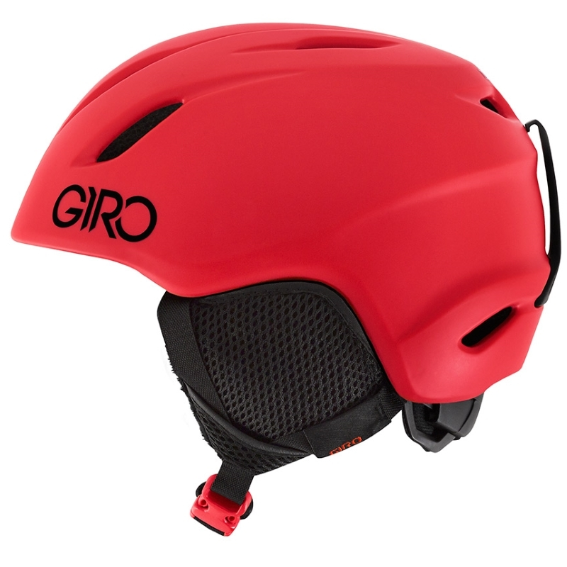 Giro Launch Youth Ski Snowboard Helmet Matt Bright Red
