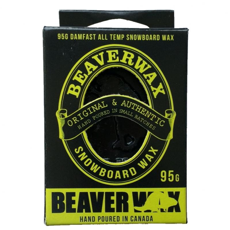 Beaver Damnfast Ski and Snowboard Wax 95g