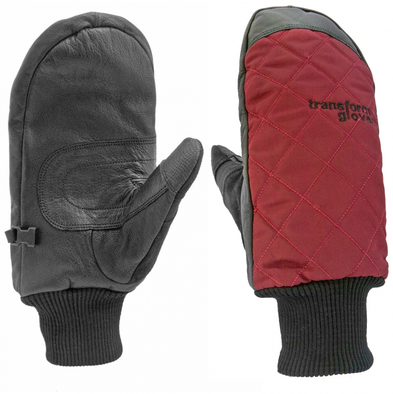 Transform The Heritage Burnt Red Snowboard Mitts