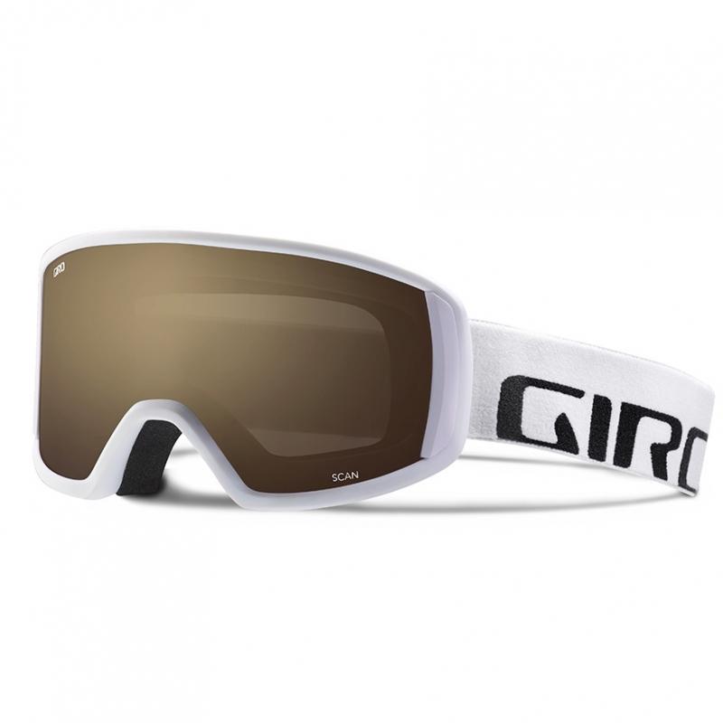 Giro Scan Ski Goggles White Wordmark AR