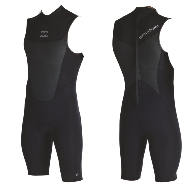Billabong 2mm Mens Absolute Comp Short John Wetsuit 2017