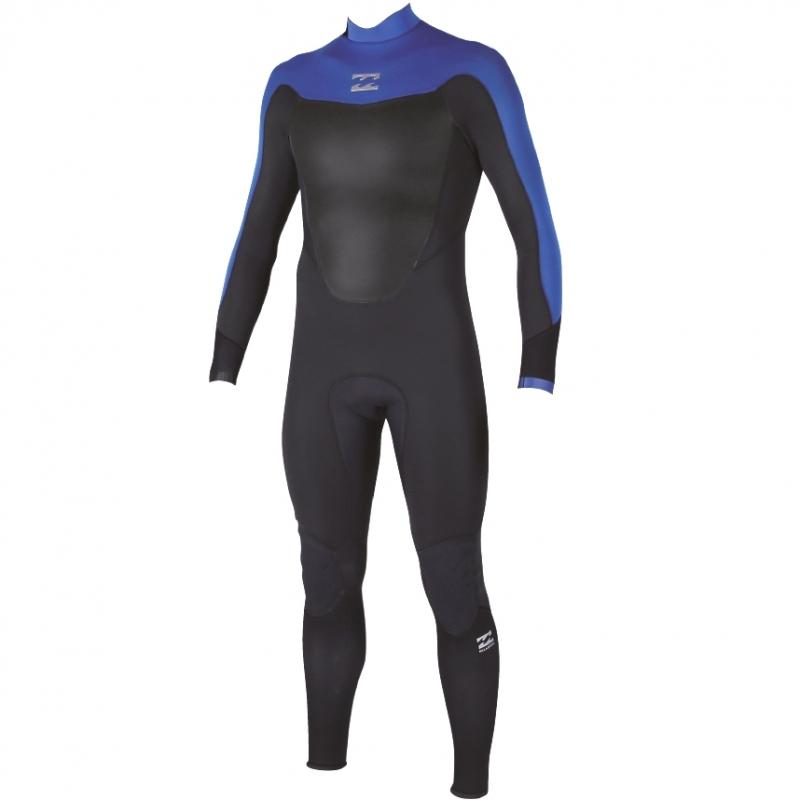 Billabong 3/2mm Mens Absolute Comp Wetsuit Back Zip Ocean Blue