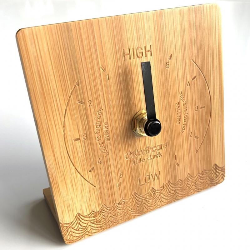 Northcore Desk Top Bamboo Tide Clock