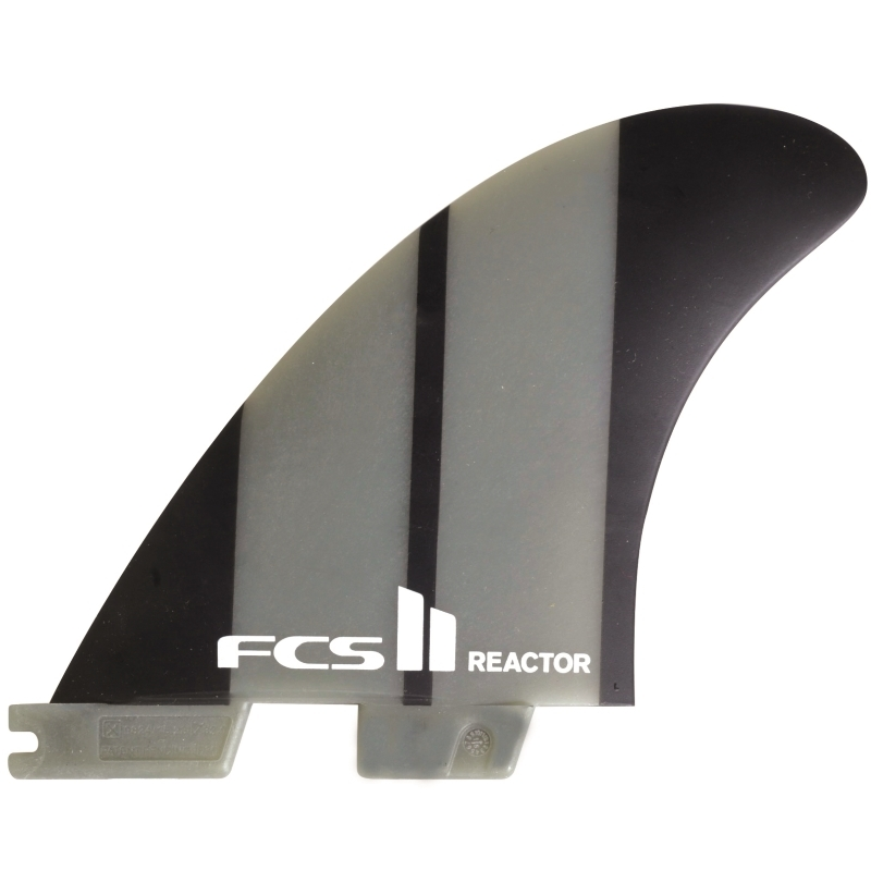 FCS II Reactor NG Tri Surfboard Fins Medium