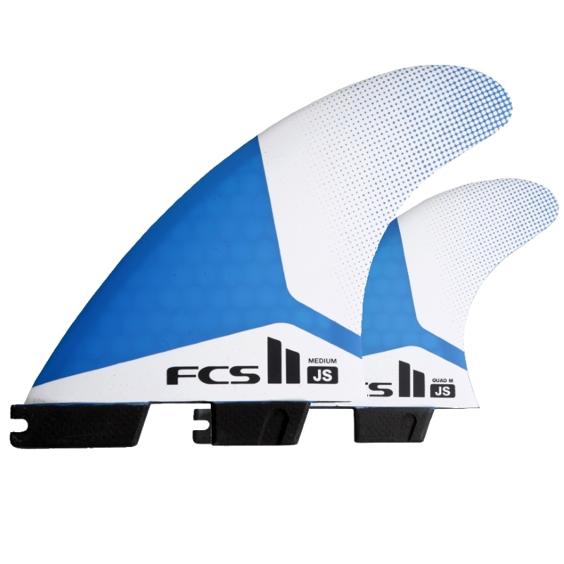 FCS II Jason Stephens JS TriQuad Surfboard Fins Medium