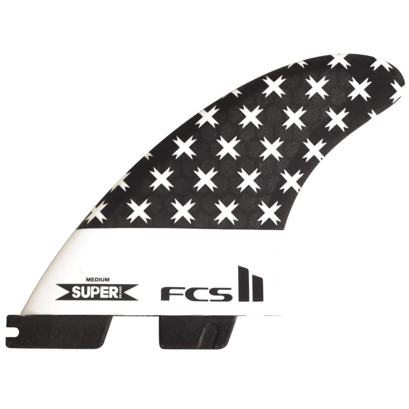 FCS II Super Brand SB Thruster Surfboard fins Medium