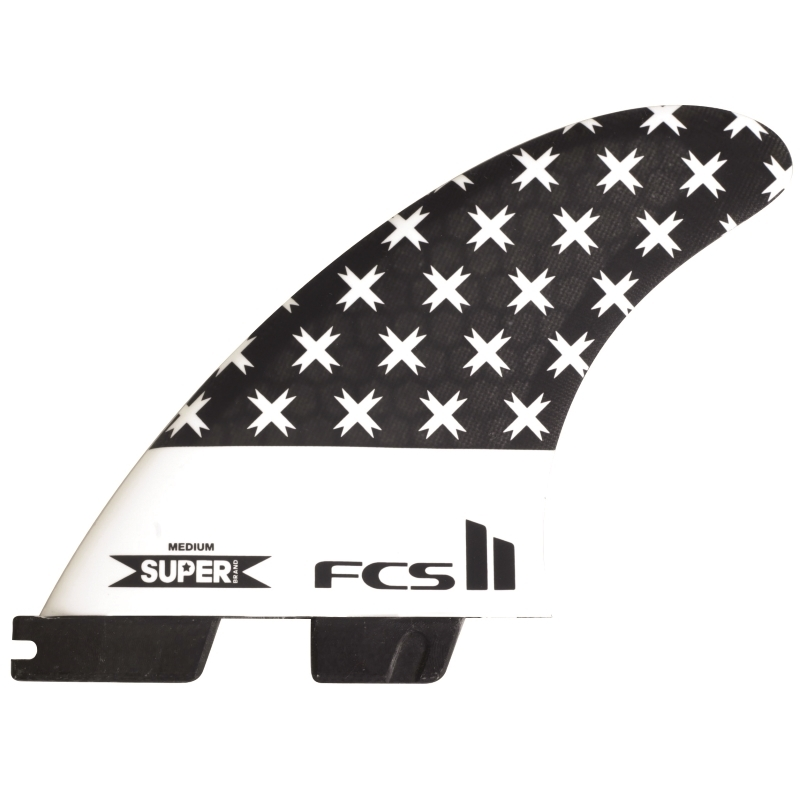 FCS II Super Brand SB Triquad Surfboard Fins Medium