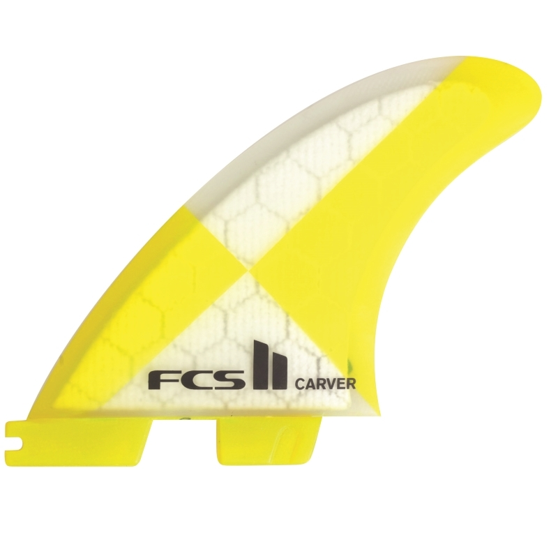FCS II Carver PC Thruster Surfboard Fins Medium 2017