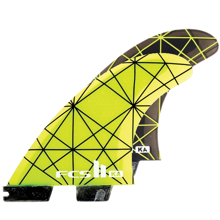 FCS II Kolohe Andino KA PC Thruster Surfboard fins Large
