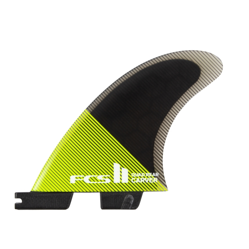 FCS II Carver PC Quad Rear Surfboard Fins Medium