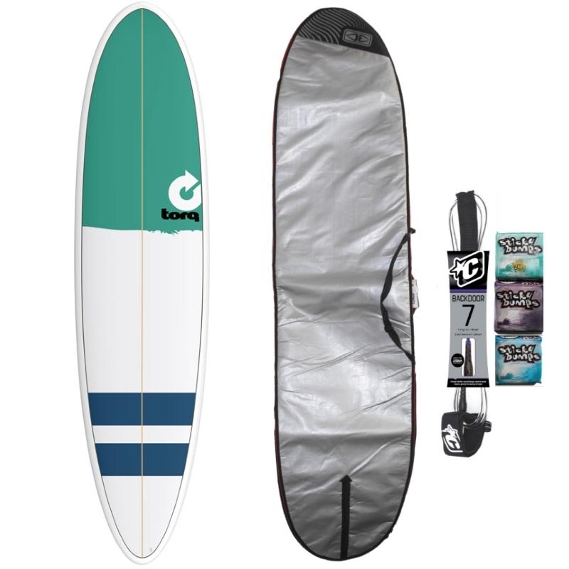 Torq 7ft6 Mini Mal Surfboard Package New Classic