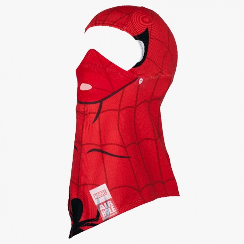 Airhole Ski and Snowboard Mask Balaclava Spiderman
