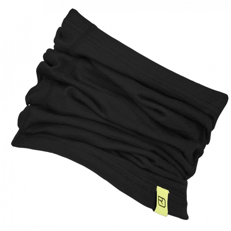 Ortovox Merino Wool Neck Warmer Black