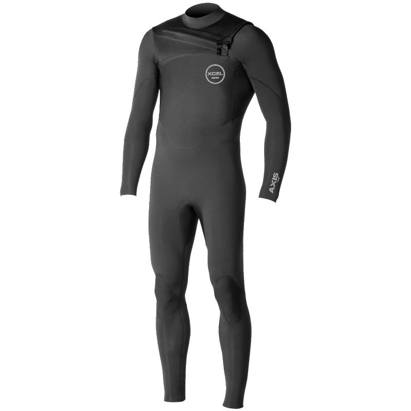 Xcel 4/3mm Axis Comp X2 Wetsuit Black