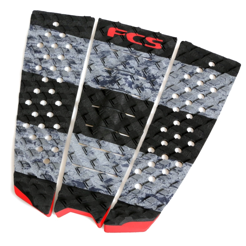 FCS Jeremy Flores Surfboard Tail Pad Coal Black