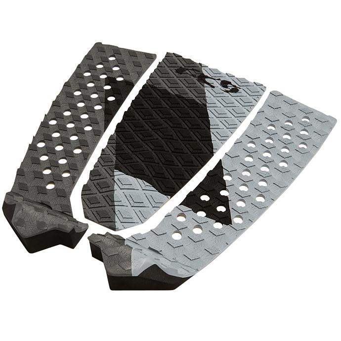 FCS Filipe Toledo Surfboard Tail Pad Coal Grey