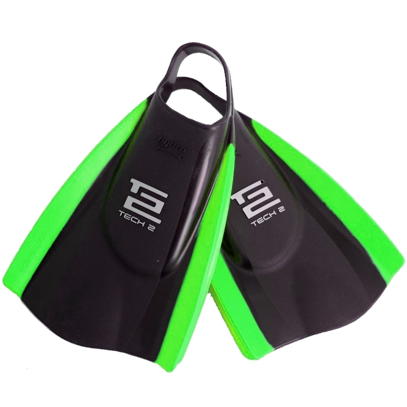 Hydro Tech2 Swim Fins Black Green