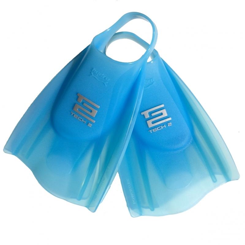 Hydro Tech2 Soft Swim Fins Blue