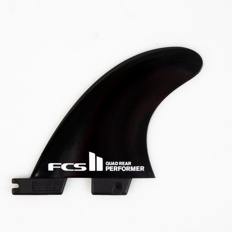 FCS II Performer Glass Flex Quad Rear Surfboard Fins
