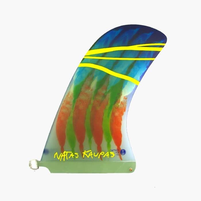 Captain Fin Natas Kaupas 10 inch Pivot Longboard Surfboard Fin